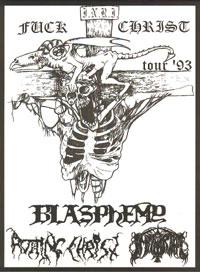 Fuck Christ Tour'93 [DVD]