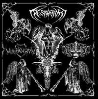 Permafrost/Menneskerhat/Annihilation 666 - Split [CD]