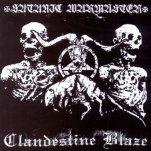 Satanic Warmaster/Clandestine Blaze - Split [CD]