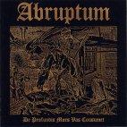 Abruptum - De Profundis Mors Vas Consumet [M-CD]