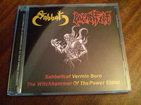 Sabbat/Paganfire - Sabbatical Vermin Born/The Witchhammer...  [CD]