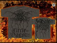 Darkthrone - I Hate Therefore I Am (Allover Print) [TS]