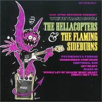The Hellacopters/Flaming Sideburns – White Trash Soul [CD]