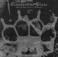 Clandestine Blaze - Fist of the Northern Destroyer [CD]