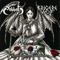 Sabbat/Krigere Wolf - E.C.A. (Extermination Cult Alliance) [CD]