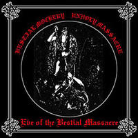 Bestial Mockery / Unholy Massacre - split [CD]