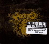 Aborted - Slaughter & Apparatus: A methodical overture [CD]